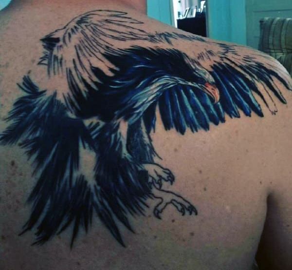 Polish Eagle Tattoo For MEn