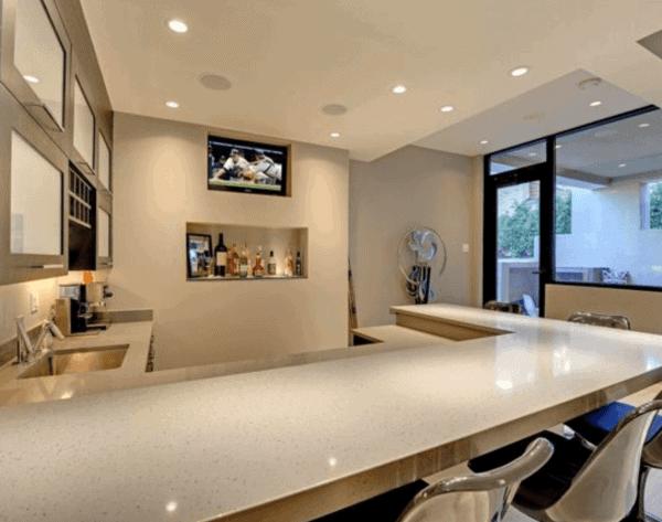 Polished Concrete Bar Top Ideas