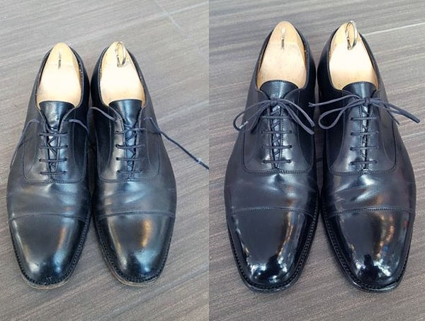 Polished Mens Leather Dress Shoes