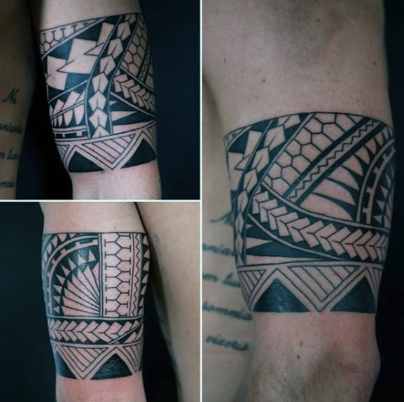 50 tribal armband tattoo designs for men masculine ink ideas. Black Bedroom Furniture Sets. Home Design Ideas