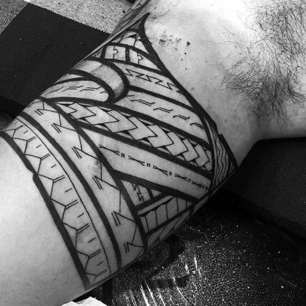 50 Polynesian Arm Tattoo Designs For Men