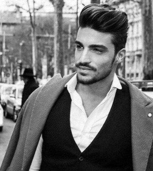 Pompadour Hair For Gentlemen