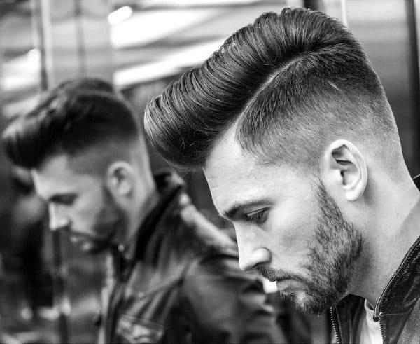 Pompadour Haircut For Men