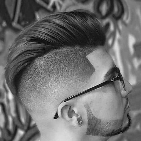 Pompadour Low Fade Haircuts For Guys