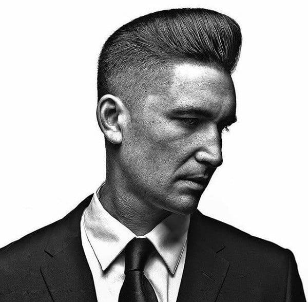Pompadours Hair Style For Guys