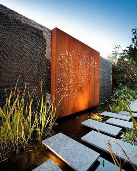 Pond Landscaping Stepping Stone Ideas Inspiration