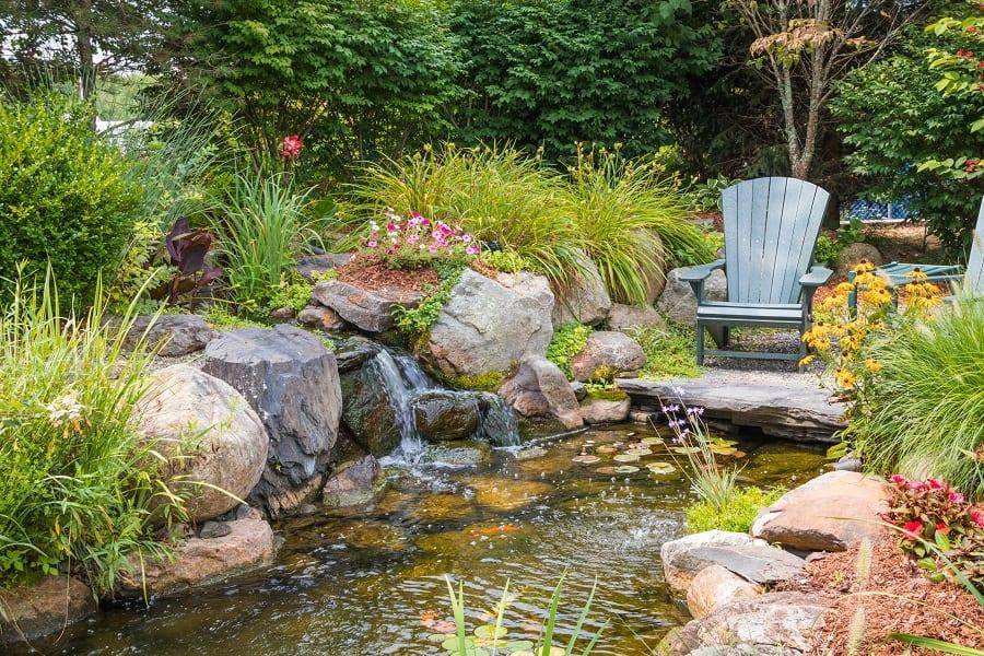 Rock Landscaping Home Designs