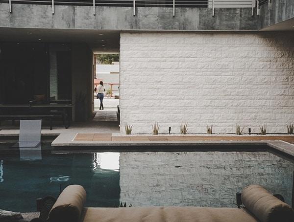 Pool Area 2019 New American Remodel.