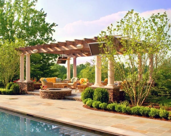 Pool Area Pergola Ideas