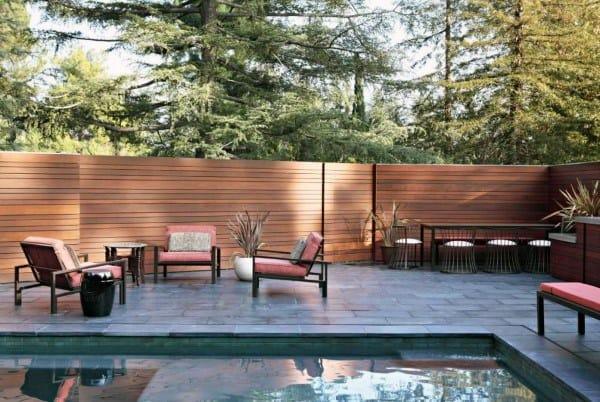 Pool Backyard Fence Ideas