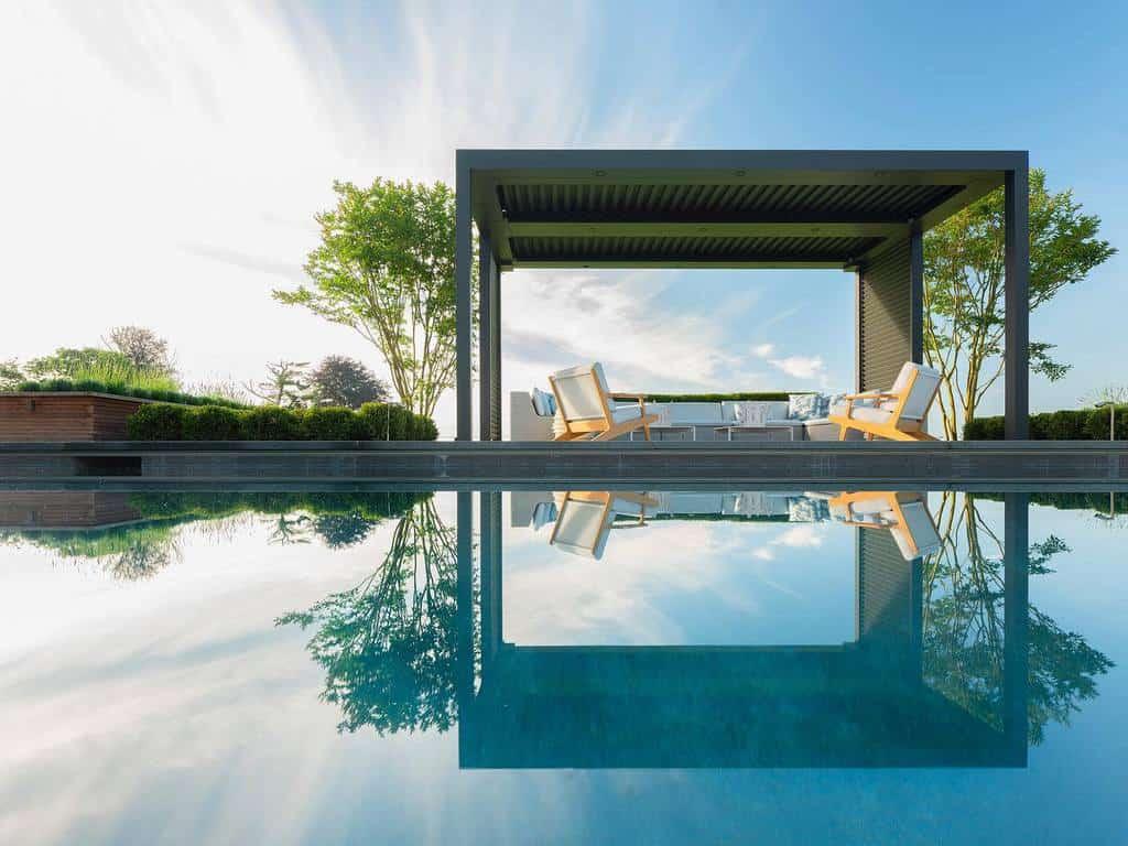 pool covered patio ideas landinophoto