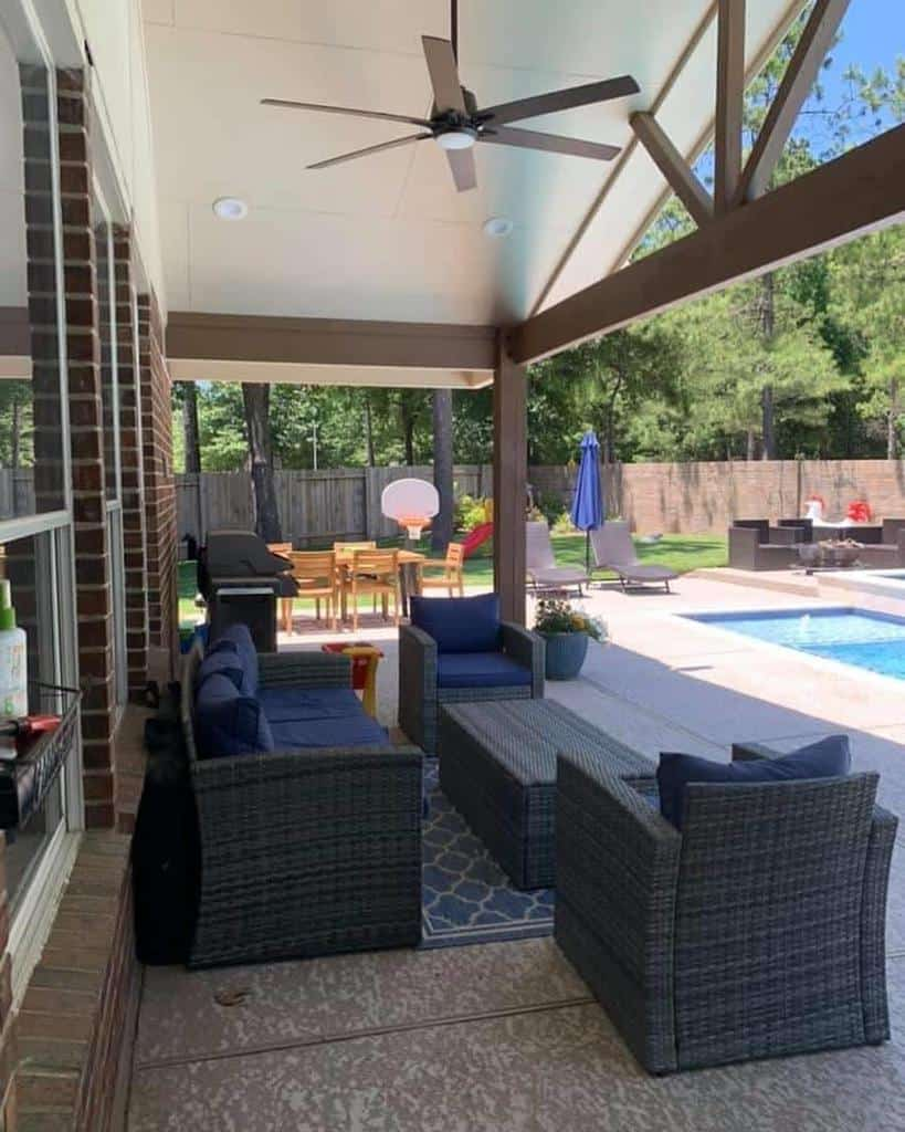 pool covered patio ideas life.with.a.diyer