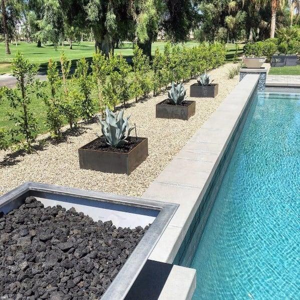 Pool Desert Backyard Landscaping Ideas