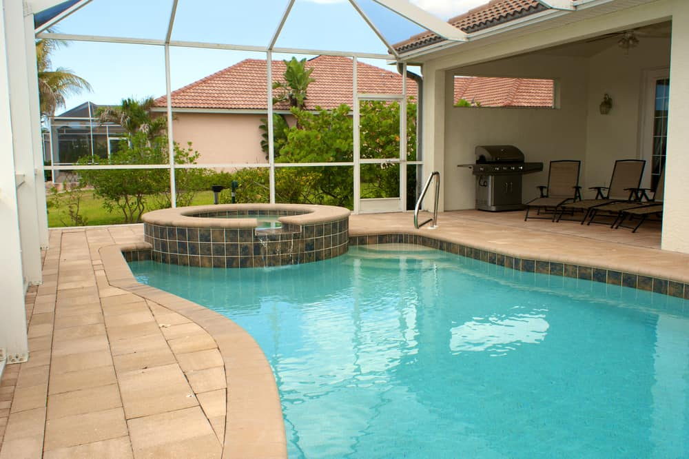 pool enclosed patio ideas 10
