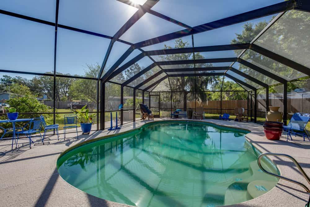 pool enclosed patio ideas 11