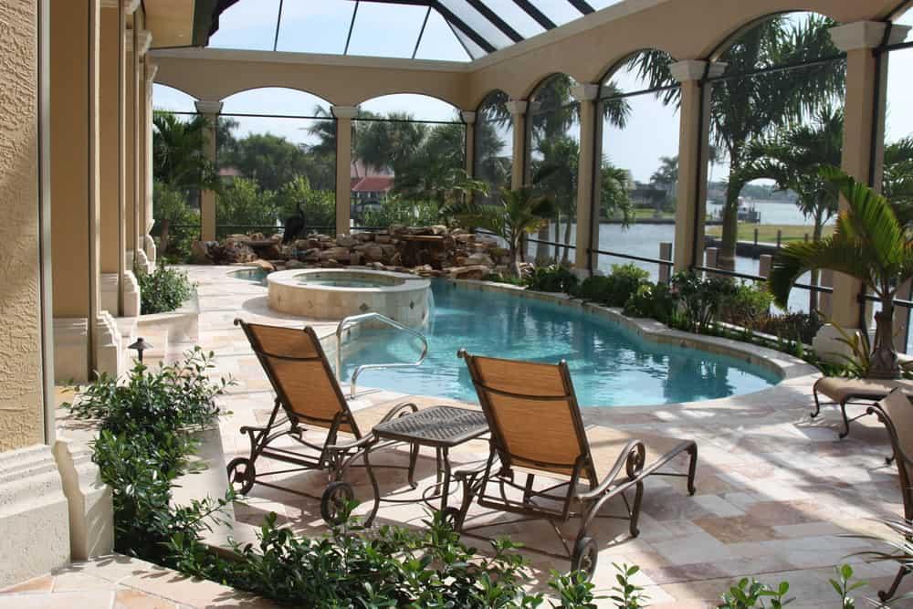 pool enclosed patio ideas 3