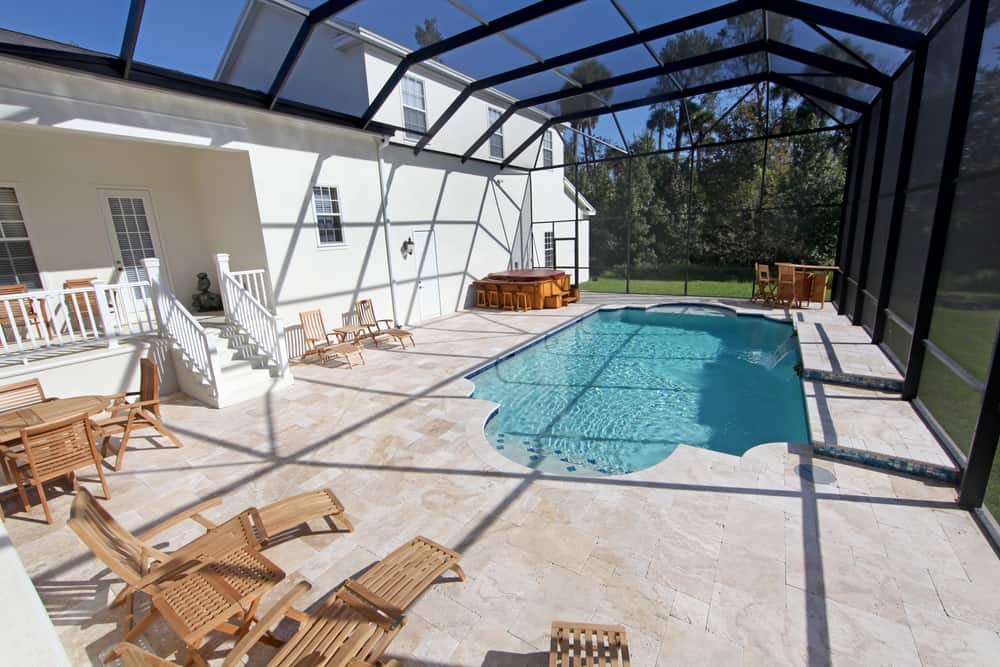 pool enclosed patio ideas 4