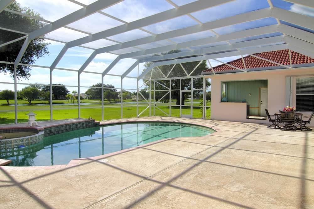 pool enclosed patio ideas 5