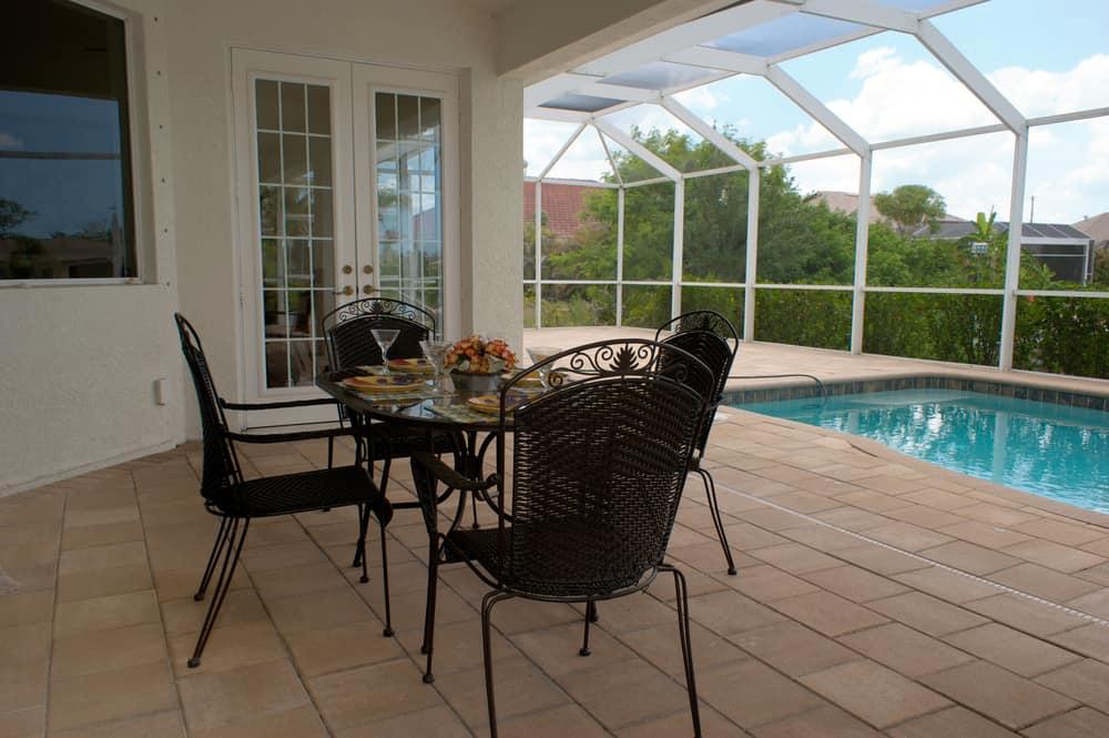 pool enclosed patio ideas 6
