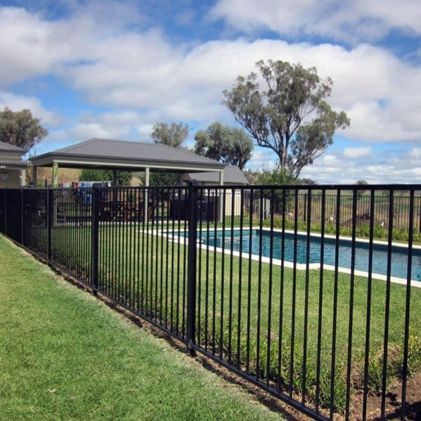 Pool Fence Home Designs Wrought Iron
