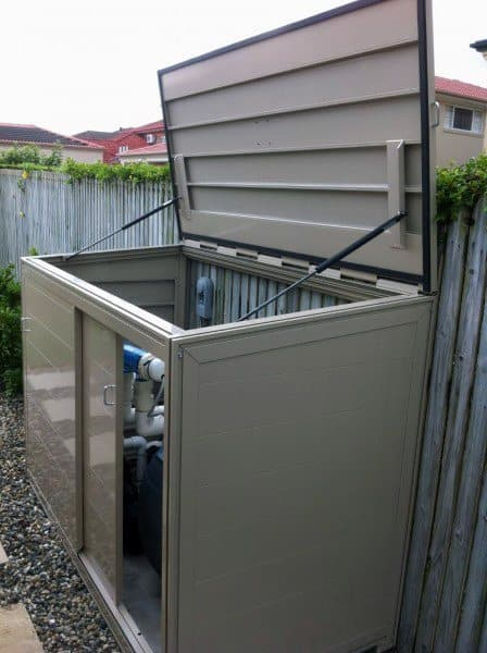 Pool Filter Enclosure Ideas