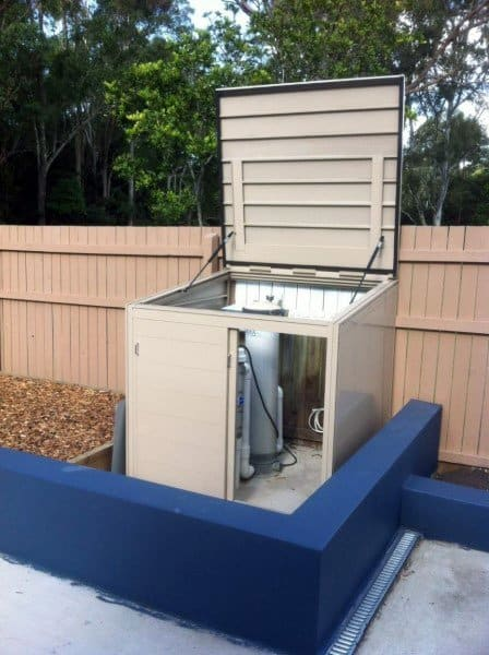 Pool Filter Enclosure