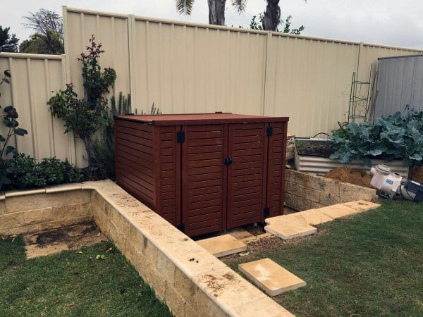 Pool Filter Enclosures