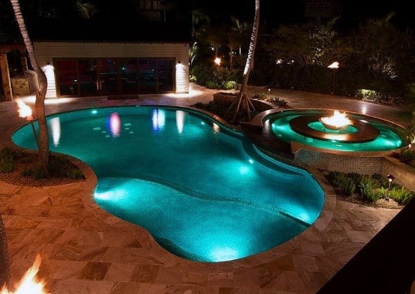 Pool Lighting Design Ideas
