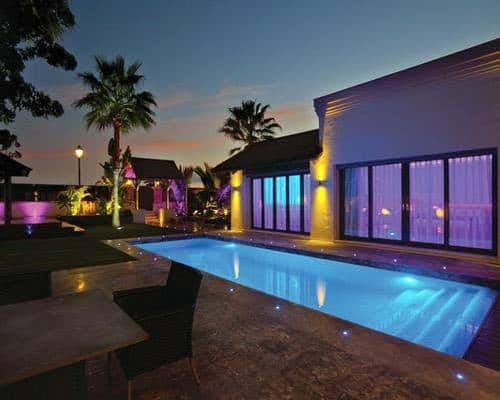 Pool Lighting Home Designs