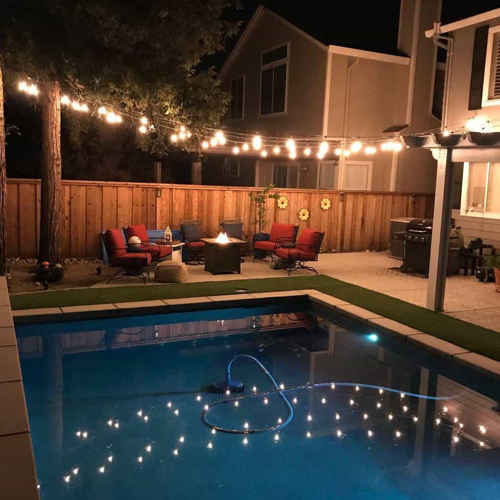 pool patio lighting ideas larcomslighting