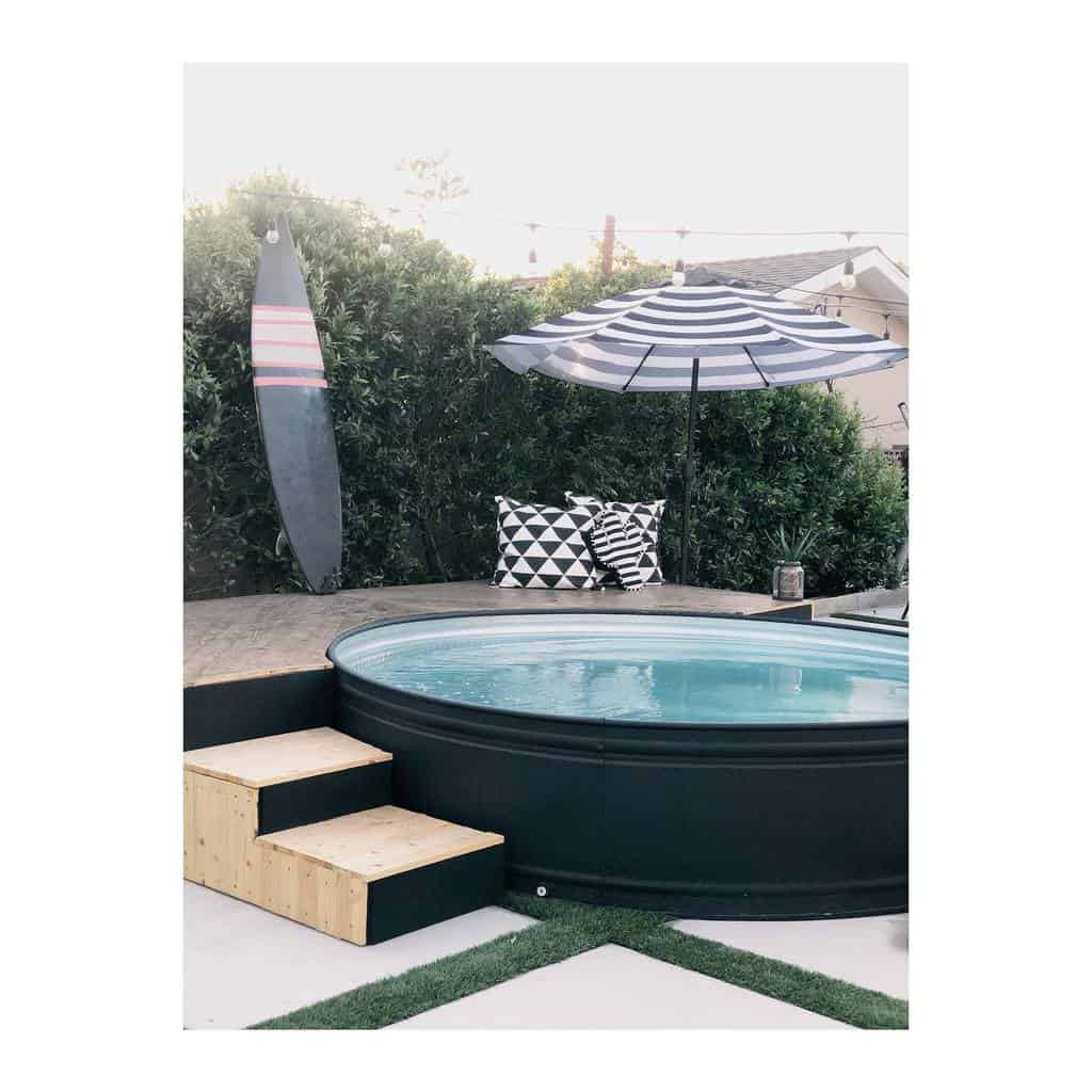 pool small backyard patio ideas houseofbutterfield