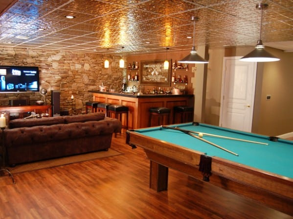 Pool Table Man Cave