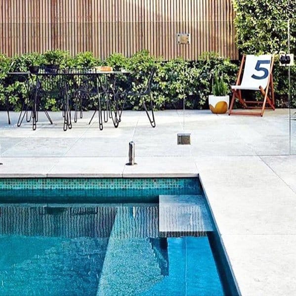 Pool Tile Design Idea Inspiration