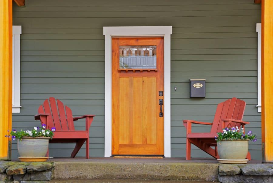 Pop Of Color Porch Ideas 1