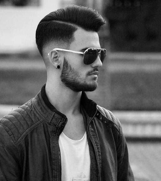 Popular Hard Part Mens Hair