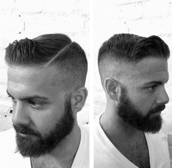 Popular Mens Short Fade Hairstyle Ideas