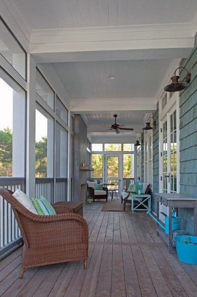 Porch Ceiling Home Designs