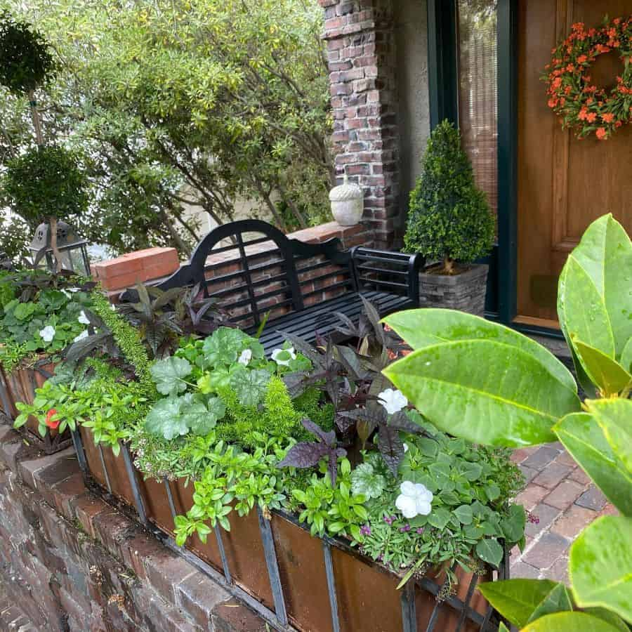 porch container garden ideas gardeningonthego