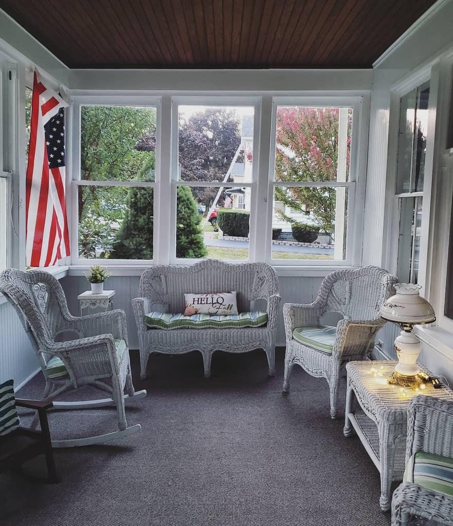 porch enclosed patio ideas emilyckinney