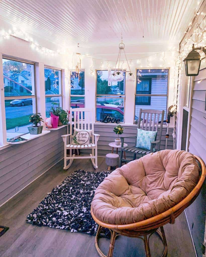 porch enclosed patio ideas thedavishouse_
