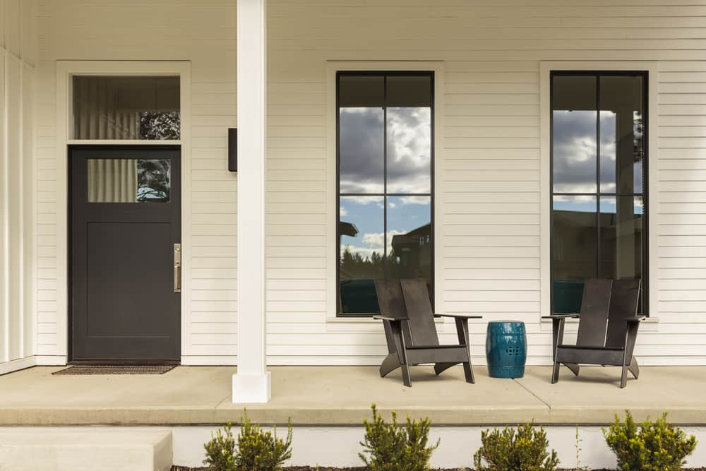 Porch Ideas Modern Farmhouse Exterior 1