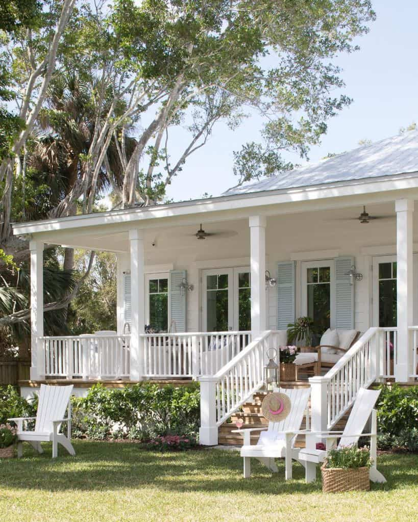 Porch Ideas Modern Farmhouse Exterior Pineapplesdesigngroup