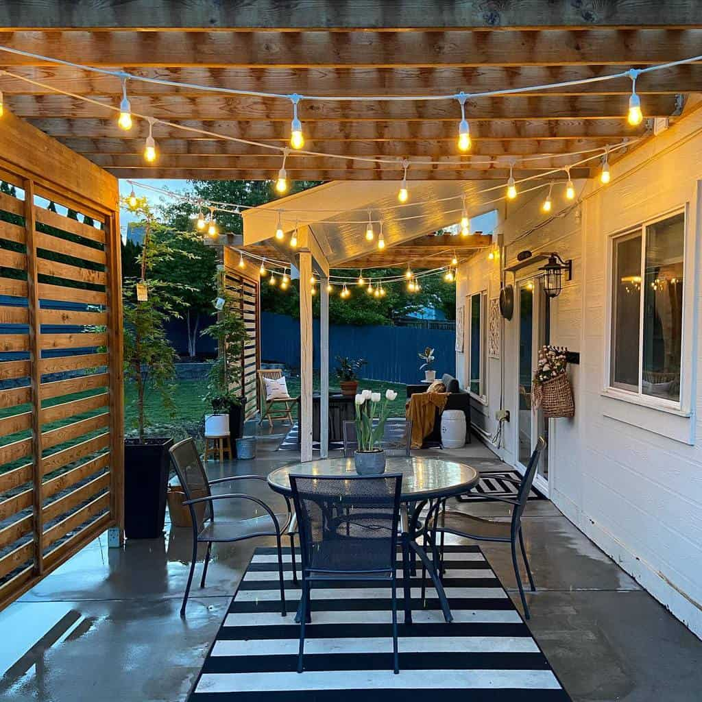 porch patio lighting ideas my.humble.homestead