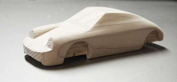 Porsche 911 Pinewood Derby Car For Father Son Activities
