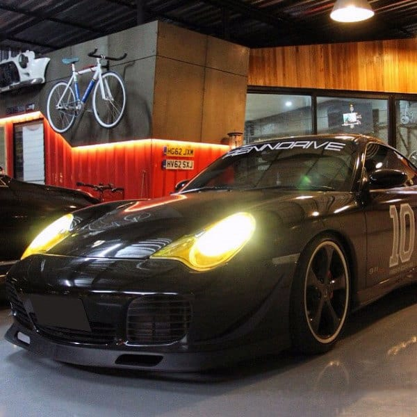 Porsche Mens Dream Garage Ideas With Incredible Interior Design