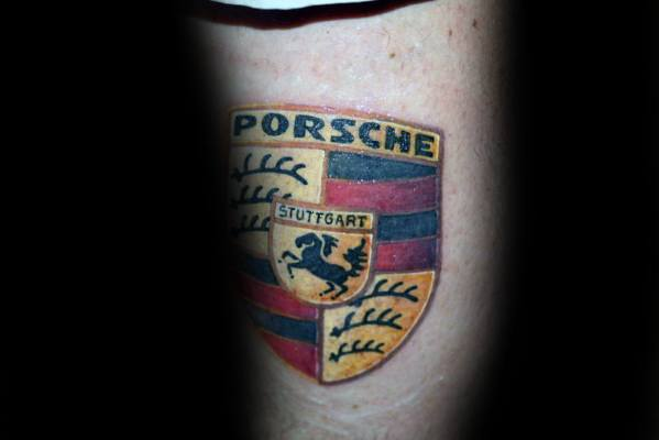 40 Porsche Tattoo Ideas For Men German Automobile Designs