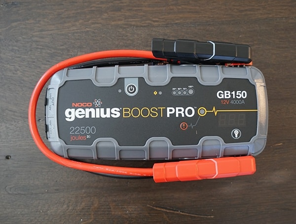 Portable Jump Starter Front Noco Gb150