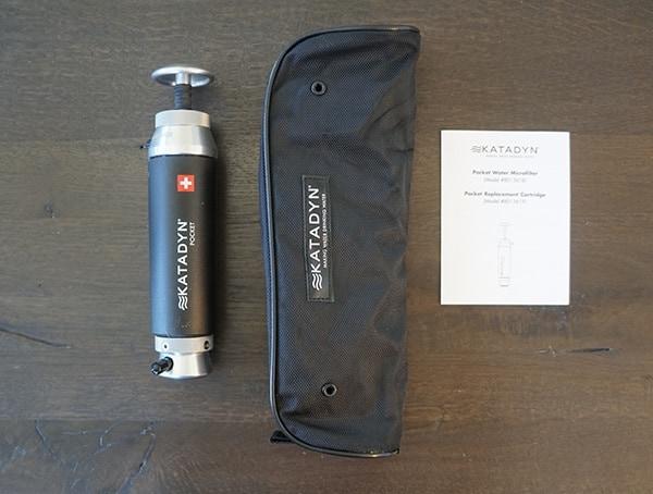Portable Water Filter Katadyn Pocket