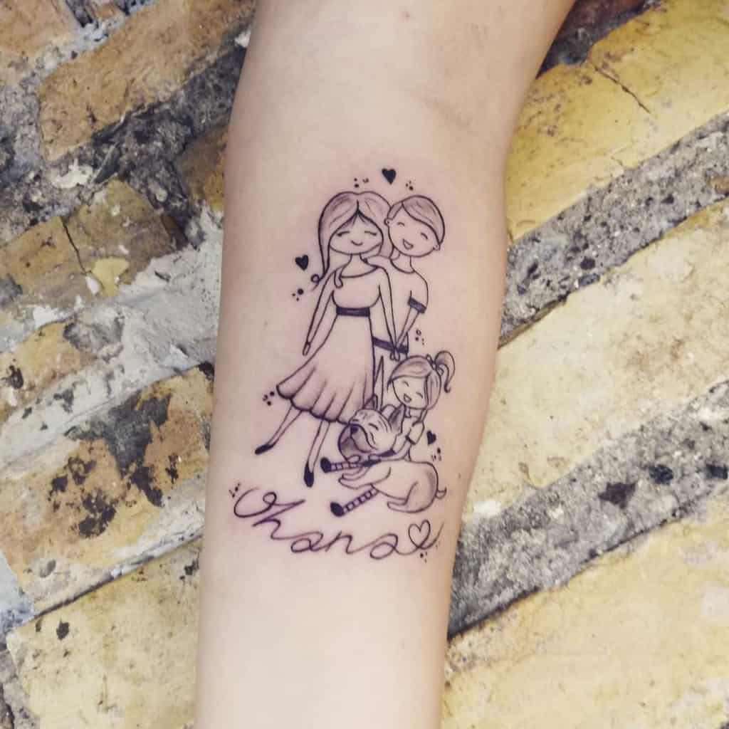 Portrait Ohana Tattoo