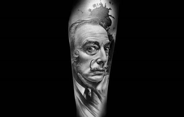 Portrait Tattoos Men On Arm